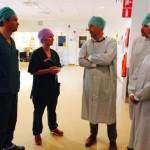 Mölndals sjukhus bild med personal